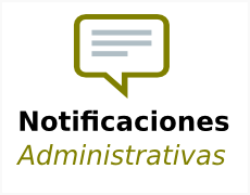 Notificaciones admon